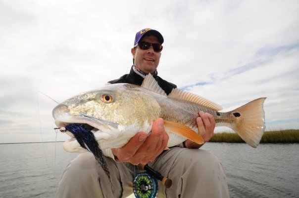 Fly fishing louisiana redfish fly water expeditions for Louisiana redfish fly fishing