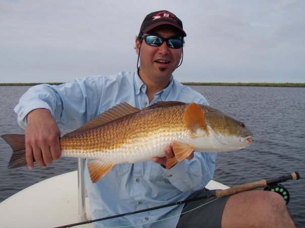 Guided redfish