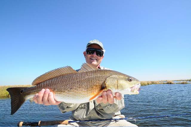 Flyfishing for louisiana reds fly water expeditions for Reds fly fishing
