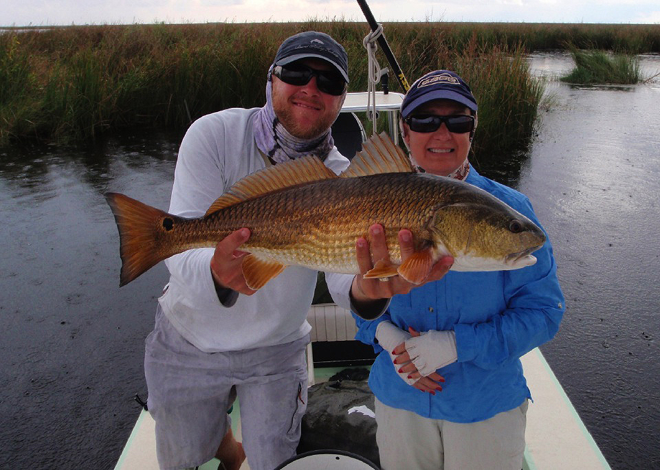 Another good redfish in the RedBone Tournament.