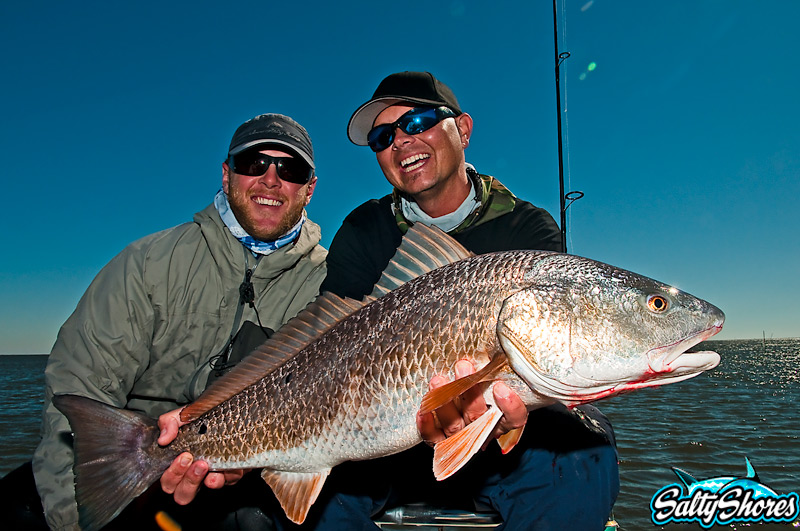 Me and BoldWater Derek with Louisiana Redfish