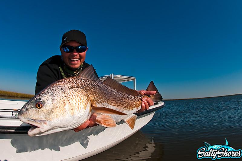BoldWater Derek Redwine with a nice redfish