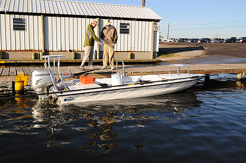 Inshore Power Boat In Louisiana Fly Water Expeditions