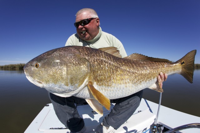 Louisiana fly fishing for redfish fly water expeditions for Louisiana redfish fly fishing
