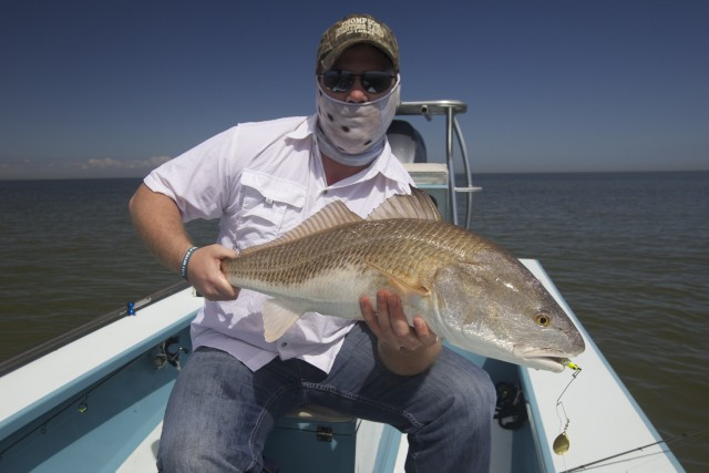 Fly fishing in louisiana in march for big red fish for Fly fishing new orleans