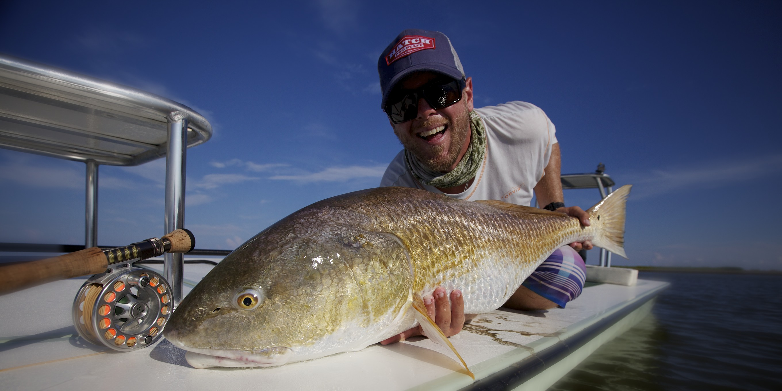 Louisiana and florida fly fishing guides fly water expeditions.